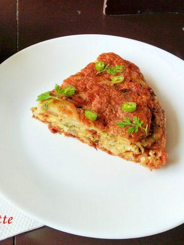 spanish potato omelette
