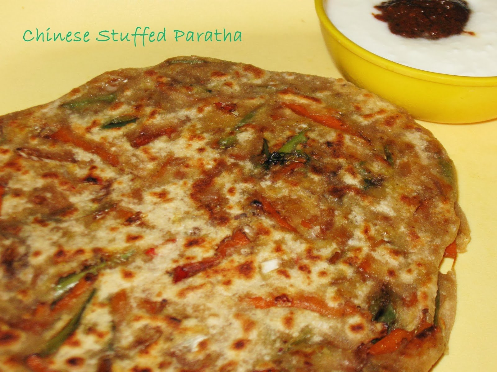 Chinese Stuffed Paratha