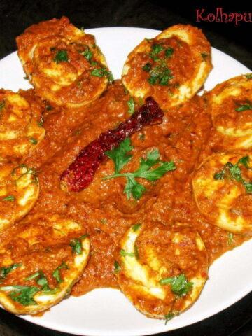 Kolhapuri Egg Masala