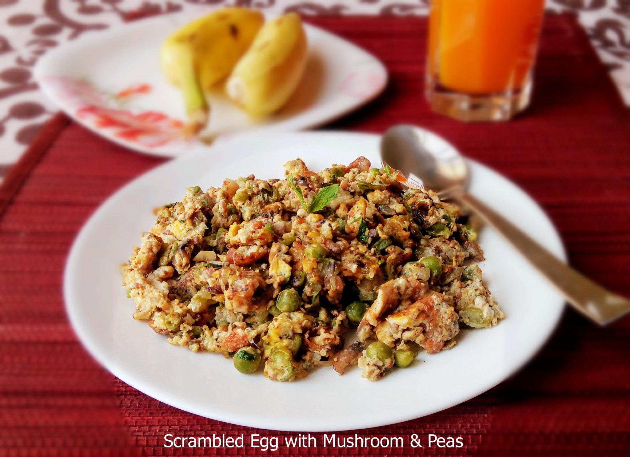 Scrambled Eggs with Mushroom