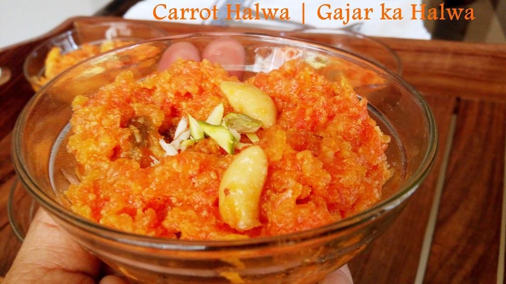 Carrot Halwa Recipe   Gajar Ka Halwa Recipe