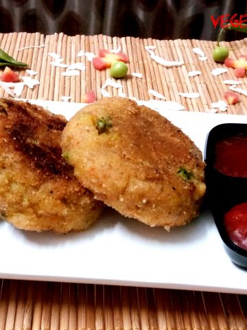 Vegetable Poha Cutlet