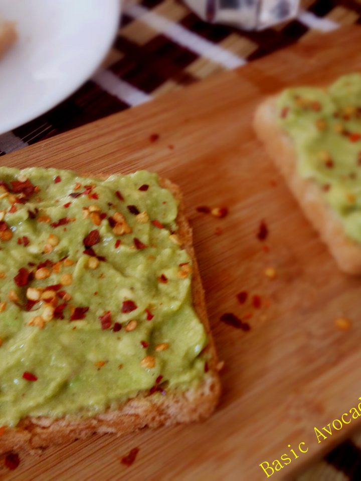 Basic Avocado Toast