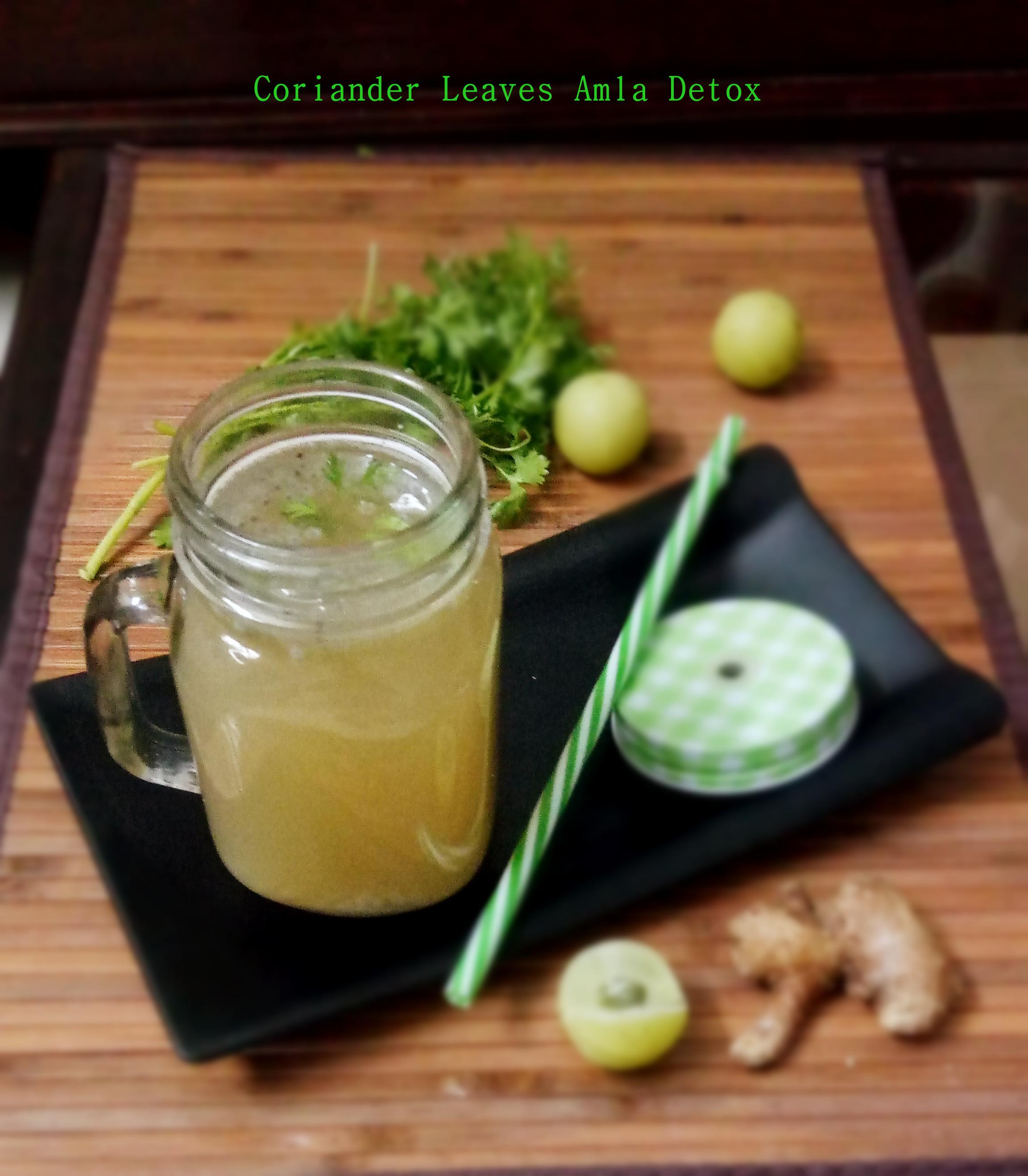 Corinader leaves and amla Detox