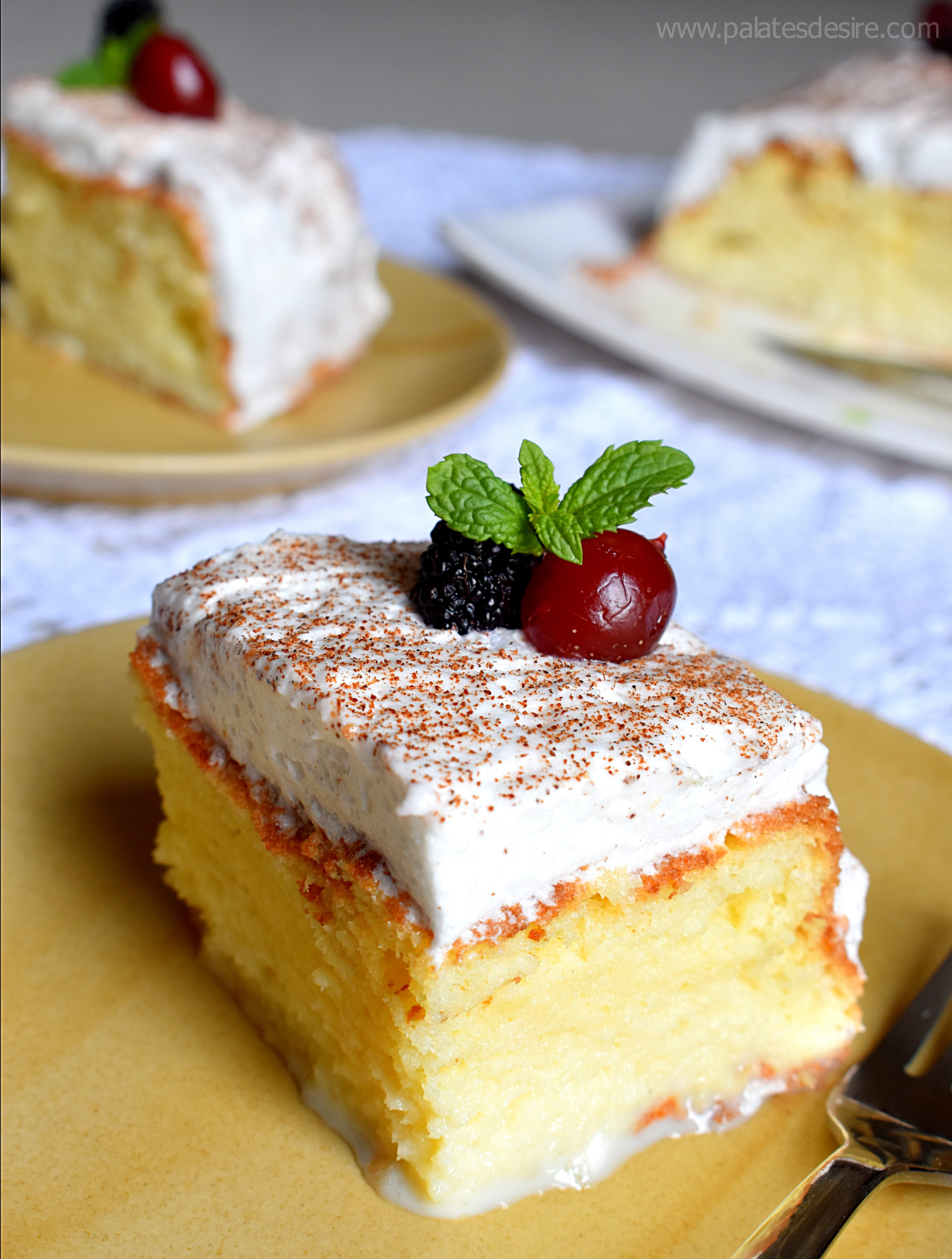 Easy Tres Leches Cake Recipe