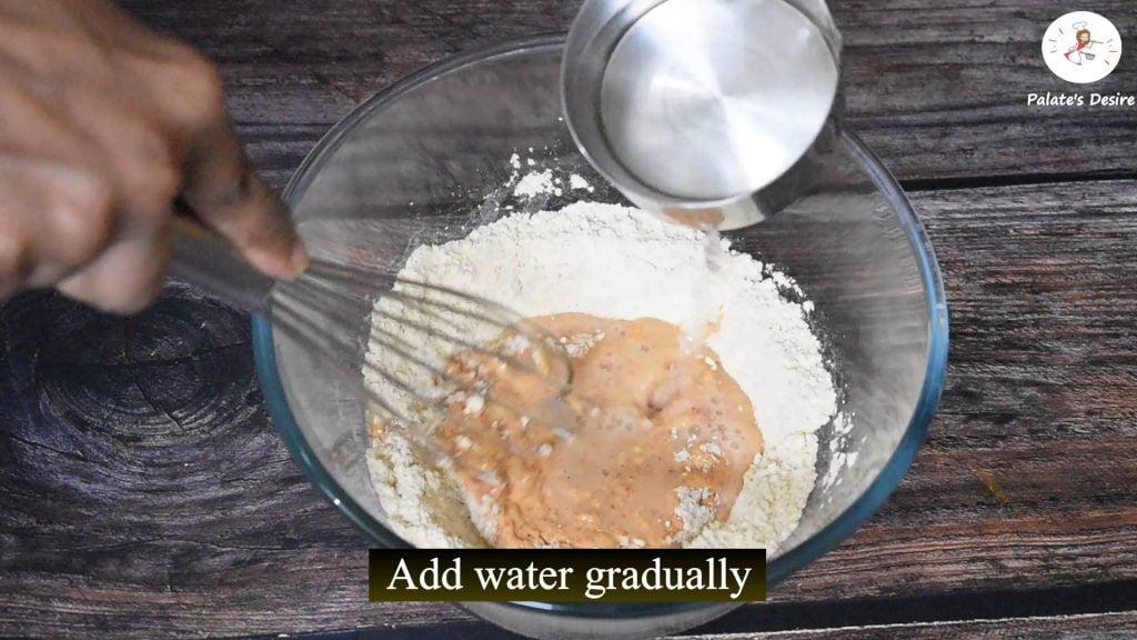 Bitter gourd chips making