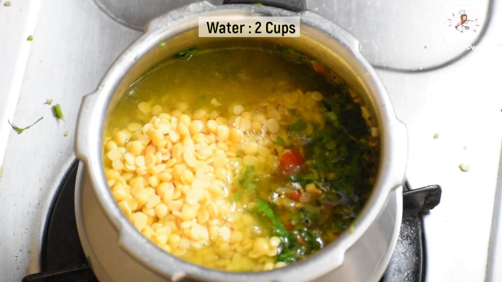 make dal palak recipe in onepot