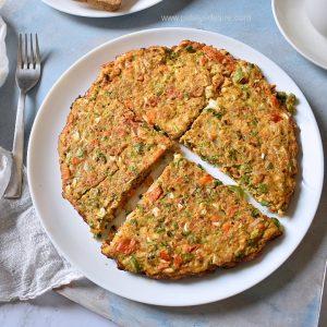breakfast-oats-omlette