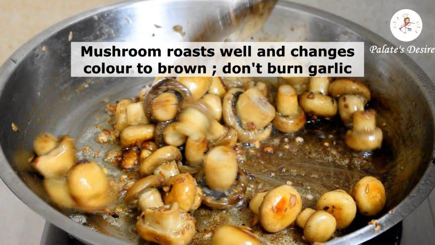 butter garlic mushroom