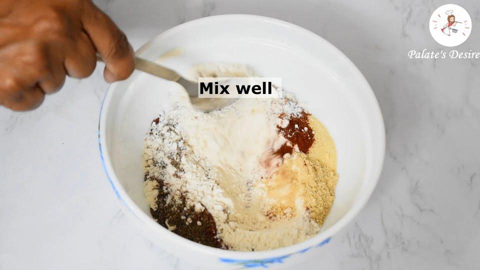 spice flour mix