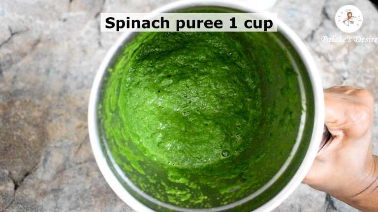 spinach-khichdi-making