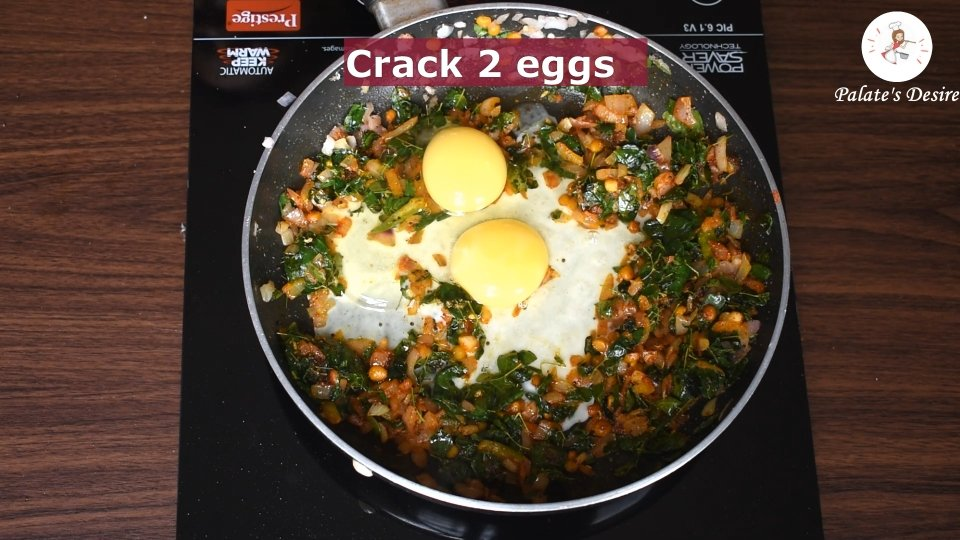 Moringa egg bhurji