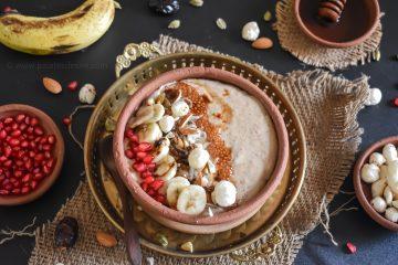 Aliv makhana smoothie