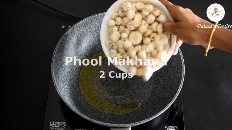 roast makhana kheer